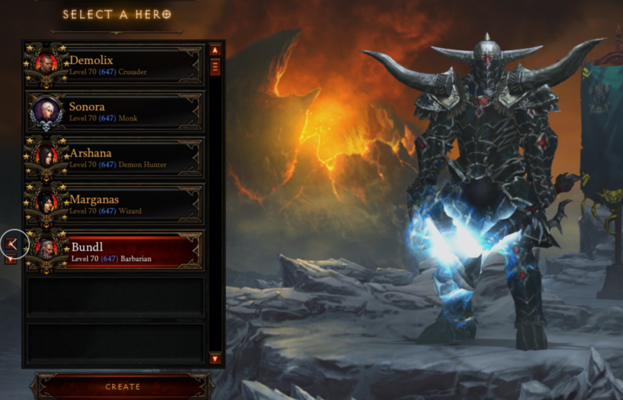Diablo 3 PC EU-Diablo 3 ROS (5 Heroes)Level 70,Paragon 647