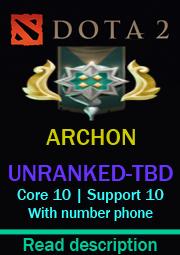 DOTA2 Global Server-TBD >[ARCHON 3 (MMR=2760) Behavior